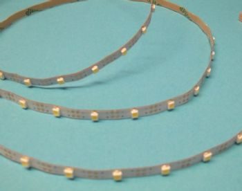 3 Volt Led Strip Amber - 30 cm